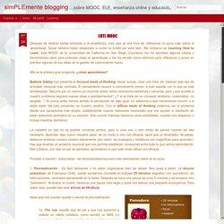 simPLEmente blogging: LHTL MOOC