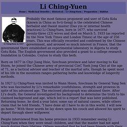 Li Ching-Yuen Page