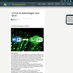 Check out the blog page and get familiar with the term lifi along with the major distinction between lifi and wifi.