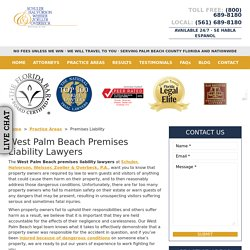 West Palm Beach Premises Liability Lawyer, Slip and Fall Attorneys