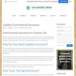 Liability Insurance in Canton, GA