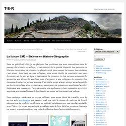 La liaison CM2 – Sixième en Histoire-Géographie