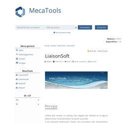 LiaisonSoft - Articles - MecaTools