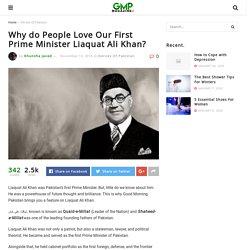 Liaquat Ali Khan: Pakistan's First Prime Minister – GMP!