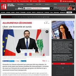Liban: une économie en sursis
