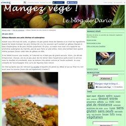 Gâteau libanais aux pois chiches et aubergines - Mangez végé!