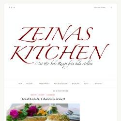 Toast Kunafa- Libanesisk dessert - ZEINAS KITCHEN