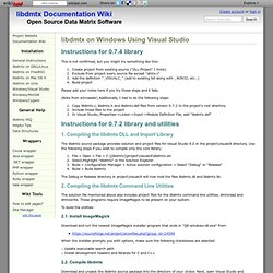 libdmtx on Windows Using Visual Studio - libdmtx Documentation Wiki