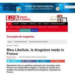 Bleu Libellule, le drugstore made in France