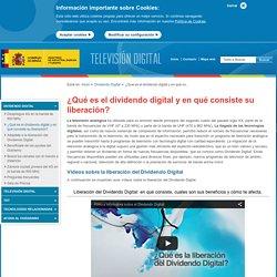 ¿Qué es el dividendo digital y en qué consiste su liberación? - Televisión digital