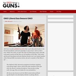 OMG! Liberal Gun Owners! OMG!