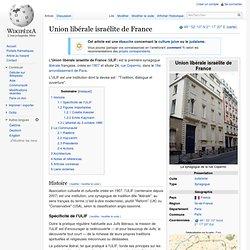 Union libérale israélite de France