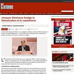 Jacques Généreux fustige la libéralisation et le capitalisme