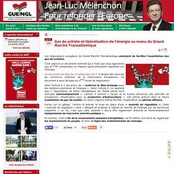 Gaz de schiste et libéralisation de l'énergie au menu du Grand Marché Transatlantique