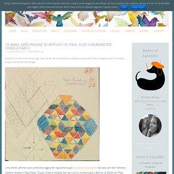 4000 pagine di appunti di Paul Klee liberamente consultabili