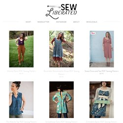 Sewing Patterns for Women's Garments and Accessories, Home of the Schoolhouse Tunic and Emmeline Apron
