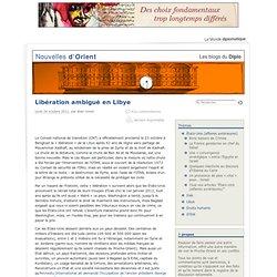 Libération ambiguë en Libye