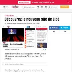 Libération - Découvrez le nouveau site de Libé
