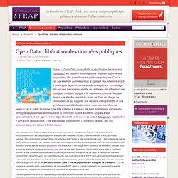 Open Data : libération des données publiques