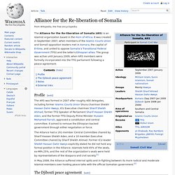 Alliance for the Re-liberation of Somalia