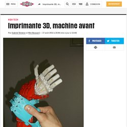 Libération - Imprimante 3D, machine avant