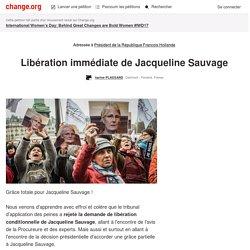 Francois Hollande: Libération immédiate de Jacqueline Sauvage