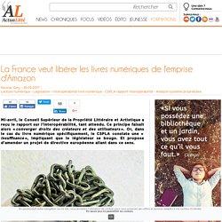 La France veut libérer les livres numériques de l'emprise d'Amazon