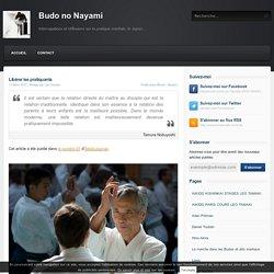 Libérer les pratiquants - Budo no Nayami