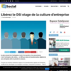 Libérez le DSI otage de la culture d'entreprise - itsocial.fr