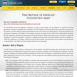 Liberland.org - Constitution