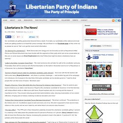 Libertarians In The News! | Libertarian Party of Indiana