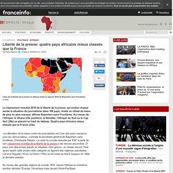 Liberté de la presse: quatre pays africains mieux classés que la France