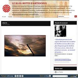 Liberté ... - ANTIOCHUS ... Le Blog