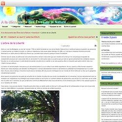 L'arbre de la Liberté » A la découverte des Êtres de la Nature