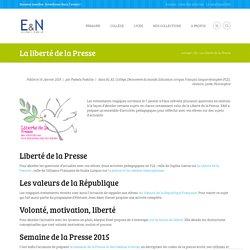 Education et Numérique - La liberté de la Presse