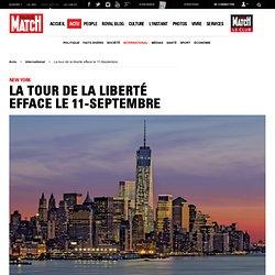 New York. La tour de la liberté efface le 11-Septembre