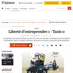 Liberté d'entreprendre 1 - Taxis 0