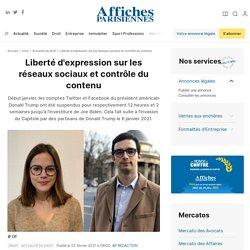 Liberté d'expression sur les réseaux sociaux et contrôle du contenu