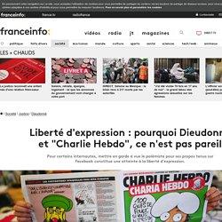 """Liberté d'expression : pourquoi Dieudonné et """"Charlie Hebdo"""", ce n'est pas pareil"""
