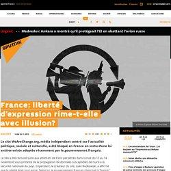 France: liberté d'expression rime-t-elle avec illusion?