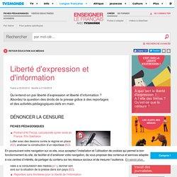 Liberté d'expression et d'information