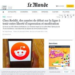 Chez Reddit, des années de débat sur la ligne à tenir entre liberté d'expression et modération