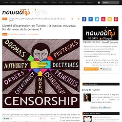 Liberté d'expression en Tunisie : la justice, nouveau fer de lance de la censure ?