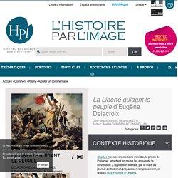 <em>La Liberté guidant le peuple</em> d'Eugène Delacroix