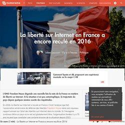 La liberté sur Internet en France a encore reculé en 2016 - Politique