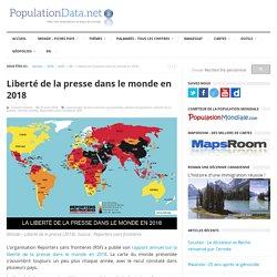 Liberté de la presse dans le monde en 2018