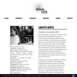 Liberté à Brême - Réseau lilas - Cédric Gourmelon - Réseau lilas – Cédric Gourmelon