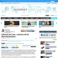 Liberté de Con...science de la discrimination