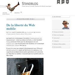 De la liberté du Web mobile