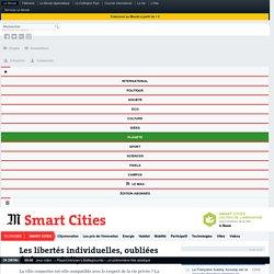 Les libertés individuelles, oubliées de la smart city